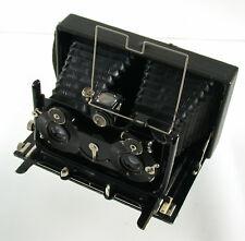 ICA Ideal Stereo 9x18 Goerz Dagor 120mm Compund Sectoren-Verschluss topcondition