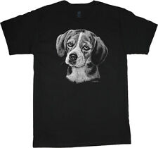 Beagle T-shirt Dog Breed Face Portrait Tee Men's Clothing Dog Person Gifts