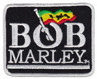 Bob Marley Rasta-Fari Reggae Jamaica Jamaika Aufnäher Bügelbild Aufbügler Patch