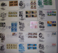 LOT OF 100 FIRST DAY COVERS! - ASSORTED ARTCRAFT ITEMS - NOW REFRESHED NEW ITEMS