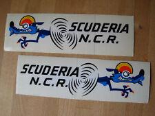 NCR DUCATI original Aufkleber Sticker NOS - 1 Paar rechts + links - RAR !!!!!!