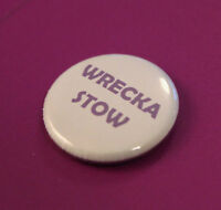 Purple Prince Wrecka Stow Fan Tribute Commemorative 25mm Button Pin Badge Brooch