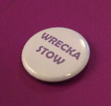 Purple Prince Wrecka Stow Fan Tribute Commemorative 25mm Button Pin Badge Brooch