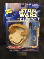 Star Wars Action Fleet Mini Scenes #4 SITH PURSUIT Darth Maul MOC EPISODE 1 I
