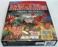 NEW Axis & Allies Iron Blitz Edition MicroProse Windows 98 / Me / 95 RARE GAME