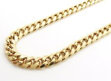 14K Gold Miami Cuban Chain 22 Inches 7.5MM 32.2 Grams