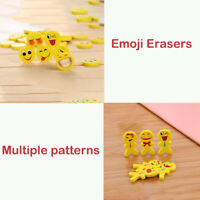 Cute Emoji Erasers Kids Rubbers Party Gift Bag Fillers Christmas Stocking
