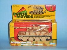 POWER MOVERS HOWITZER CANNON - Vintage 1982 by Kenner - NEW/NRFB - Sealed