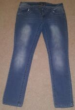 FOREVER YOUNG JRS SKINNY SLIM JEANS STRETCH SIZE 13 MEDIUM WASH
