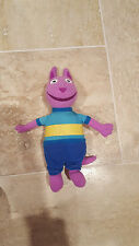 "Austin 6"" The Backyardigans Purple Plush Stuffed 2009 Ty Beanie Baby Nick Jr"