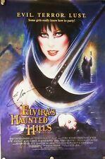 Elvira Mistress Of The Dark - Cassandra Hand Signed Autographed 27x40 Poster !!