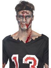 Maquillaje Set Heridas Forma con Látex Líquido y Sangre 5 Heridas