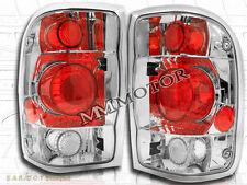 98-00 FORD RANGER EURO TAIL LIGHTS CHROME 98 99 00 LAMPS