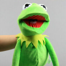 60cm Kermit the Frog Hand Puppet Full Body Muppet Sesame Street Plush Toy Prop