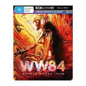 Wonder Woman 1984 Limited Edition Steelbook 4K UHD + Blu-Ray BRAND NEW Region B
