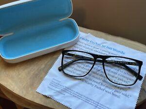 Warby Parker MOORE Brown Tortoise Square Eyeglasses Glasses Frames 57-15 145