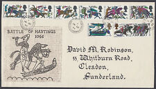 1966 Battle of Hastings extremely scarce (as full set) Holmes Tolley design FDC