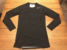*New* Mens Nike Pro Long Sleeved Athletic Top Black Size Xl (869470-010)