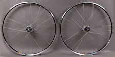 New Shimano Dura Ace 7600 Track Fixed Gear Singlespeed Wheels Black Rims Fix/Fix