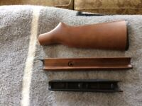 Mixed lot H&R or New England 410 ga. forend, 12ga. forend, pardner stock