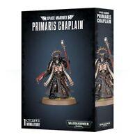 Space Marines Primaris Chaplain - Warhammer 40k - Brand New! 48-62