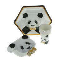 Panda Series jetables gobelets en papier assiettes serviettes DIY Party Decor