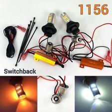 Rear Signal Light 1156 BA15S 7506 P21W Switchback White Amber 42 LED Bulb K1 HA
