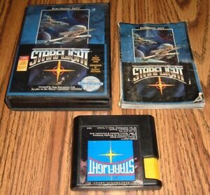 Starflight 1991 Sega Genesis comes with case and book AUTHENTIC TESTED
