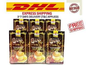 10 Boxes Gano Excel Cafe 3in1 Coffee Ganoderma  Reishi EXPRESS DHL SHIPPING