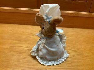 Vintage Eden Toys Inc. Lady Mouse Plush