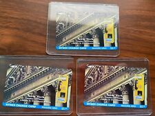 NYNEX Change Card - Inaugural Series - New York Stock Exchange - Set of 3