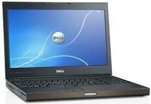 Dell Precision M4800 i7-4810MQ 2.8Ghz 16GB 512GB SSD 2GB Graphics Full HD Win 10