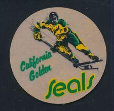 "California Golden Seals 1960s/70s 3"" Fasson Hockey 3"" Sticker *S17"