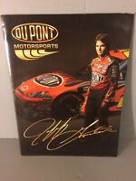 Jeff Gordon 2008 NASCAR Hendrick Racing DuPont Chevy Media Guide Press Kit