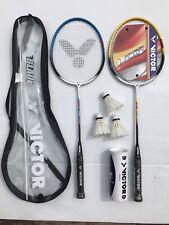Victor Blade 1000 Badminton Racket Set - New