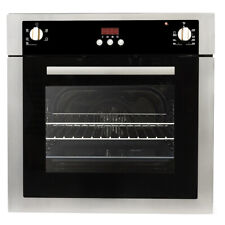 24 in. Stainless Steel Electric Wall Oven, True European Convection (Open Box)