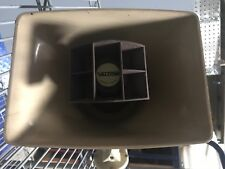 Vtg Valcom V-1030B 5 Watt 1 Way Paging Horn Commercial Industrial Loudspeaker