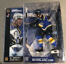 McFarlane CHRIS PRONGER CHASE VARIANT ST LOUIS BLUES NEW IN BOX BLUE JERSEY