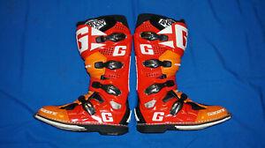 Gaerne SG12 Answer LE Red Orange Mens Size 11