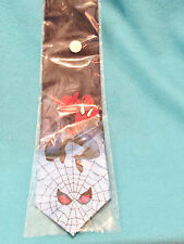 SPIDERMAN TIE - 100% SILK - HAND MADE - KAILONG - BRAND NEW