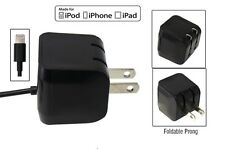 2.1 AMP Apple MFI Certified Wall Home Charger Lighting Cable iPhone 6S, 6S+ BLK