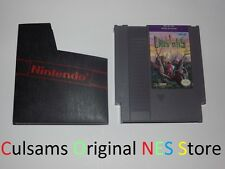 ORIGINAL NINTENDO NES GAME CRYSTALIS CLEAN & TESTED WITH SLEEVE & GUARANTEE