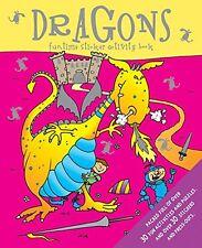 Funtime Pegatinas Libro De Actividades __ Dragons __ Nuevo __ ENVÍO GRATIS GB