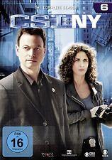 CSI : NY NEW YORK DIE KOMPLETTE DVD SEASON / STAFFEL 6 DEUTSCH