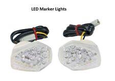 Suzuki Front LED Turn Signals Marker Lights Fairing Mount GSF GSXR 600 750 1000