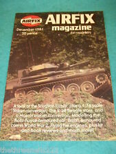 AIRFIX MAGAZINE - FLYING FIRE ENGINES - DEC 1981
