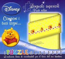 Lenzuolo Sopra Rosa Winnie the Pooh Pimpi Lenzuola Relax Disney Caleffi