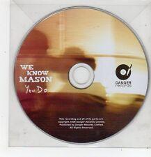 (FF410) We Know Mason, You Do - 2008 DJ CD