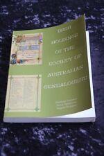 Heather Garnsey - Irish Holdings of the Society of Australian Genealogists