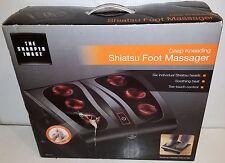 (NEW OPEN BOX!) The Sharper Image MSG-F110B Deep Kneading Shiatsu Foot Massager